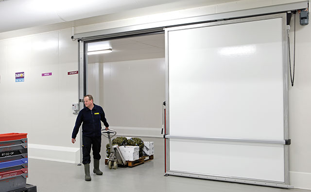 Horizontal Sliding Doors (Freezer Type)