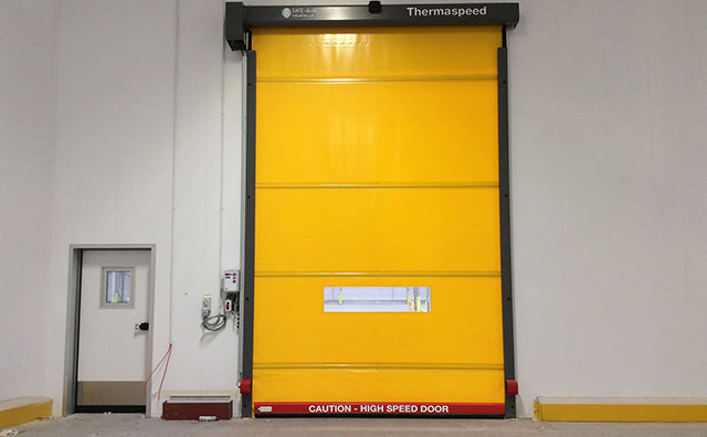 & HIGH SPEED DOORS (CHILL-TYPE) | SALCO INSULATED DOORS LLC